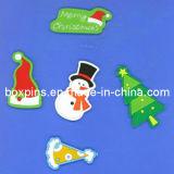 Merry Christmas Decoration Soft PVC Fridge Magnets