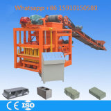 Qtj 4-26c Automatic Concrete Cement Hollow Brick Block Making Machine