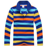 High Quality Combed Cotton Kids Polo Shirt (S-14)