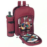 Polyester Picnic Backpack for 2 Persons