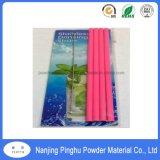 Bright Pink Thermoset Powder Coatings