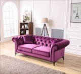 Home Furniture Living Room Tufted Chesterfield Sofa