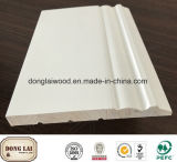Flexible Radiata Pine White Primed Skirting Board