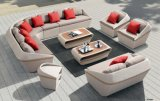Garden Rattan Patio Outdoor Home Hotel Office Wales Lounge Outdoor Sofa Set
