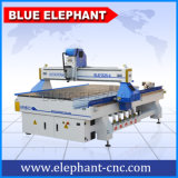 Long-Life CNC Router 1325 4 Axis, 3D CNC Wood Carving Machine, 4 Axis CNC Router Engraver CNC with Italy Hsd Spindle