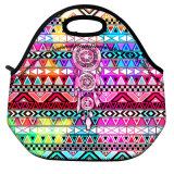 Fashion Printing Insulated Thermal Food Fresh Lunch Bags for Factory Portable Women Kids Picnic Cooler Lunch Box Tote Bag