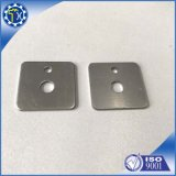 Custom CNC Milling Machining Electrical Metal Part, Audio Faceplate Single Part