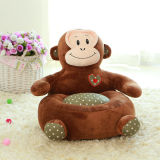 Kids Plush Chair Seat for Children, Monkey Plush Sofa Seat
