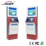 Card Dispensing Touch Screen Kiosk Embedded Printer and Scanner