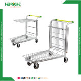 Stainless Logistic Steel Warehouse Trolley Rolling Cart