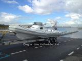 Liya 8.3m Fiberglass Offshore Fishing Boat Saltwater Fishing Boat