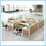 Modern Office Staff Workstations for 4 Person
