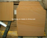 Natural Yellow Sandstone Tile for Wall Decoration