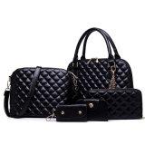 Sell Well Set Leather Bags 5PCS Fashionable Designer Handbag (XM0124)