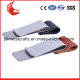 China Made Foreign Features Blank Leather Money Clip