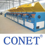 15 M/S - 30 M/S Fast Speed Low / Medium / High Carbon Steel Wire Drawing Machine