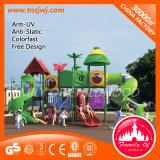 Plastic Slide Outdoor Playground Equipment
