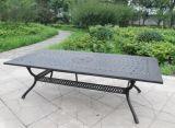 Garden Square Dining Table Cast Aluminum Furniture