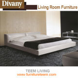 Modern Bedroom Furniture King Size Fabric Bed Leather Bed