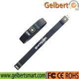 Promotion Wristband Custom USB Pen Drive with Logo Printing