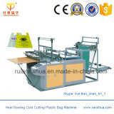 Heat Sealing Cold Cutting Biodegradable Plastic Bag Machine for Sale