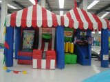 4 In1 Midway Game Inflatable Carnival Games Sale