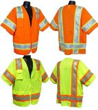 Short Sleeved Surveyor Safety Vest Class 3