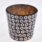 Wholesale Glass Candle Holder in Mosaic Craft