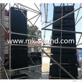 Dual 12inch Powered Line Array Speaker with DSP