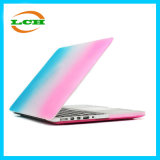 Fashionable Clear Transparent Colorful Rainbow Case for MacBook Air