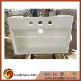 Wholesale White Nano Crystallized Glass Vanity Top for Bathroom