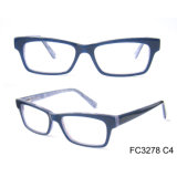 Fashionable Men Solid Color Acetate Optical Glasses