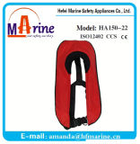Ec Certificate 150n Inflatable Swimming Life Vest