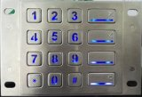 Metal Backlight Keypad for Access Control (KMY3502B-2-BL)
