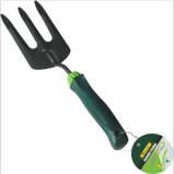 Garden Tools Steel Garden Prong Fork with Shock Resistant Handle for Gardening