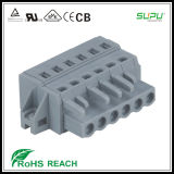 Supu Mcs Female Terminal Blocks Connector with Fixing Flanges