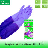 Long Cuff Cleaning Household Gloves
