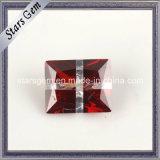 Garnet & White Color Cross Multi Color Stone