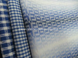 100% Cotton Yarn Dyed Jacquard Fabric for Shirt