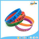 OEM Design Wholesale Price Letter Shaped Fashionable Silicone Bracelet