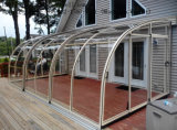 Custom Aluminum Stainless Steel Canopy Rainshed Balkon Awning Sunlight Room