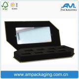 Dongguan Luxury Cardboard Custom Printed Packaging Eyelashes Boxes with Mirror