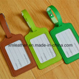 Wholesale Colorful Leather Luggage Tag with Custom Logo