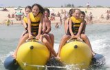 Double Lanes Inflatable Water Banana Boat for Sale