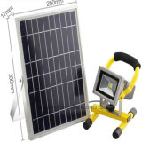 High Quality 4hours 10V 10W Solar Powered Outdoor Spotlight Floodlight