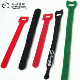 Size and Packing Customized Nylon Magic Tape Strap Ties for Electronic Products