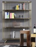 Stainless Steel Morden Home Bookshelf