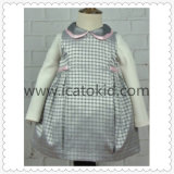 Sleeveless Children Clothing Wool Winter Dress for Kids Clothes