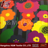 Printed Crepe Poly with TPU Polyester Softshell Fabric with Fleece