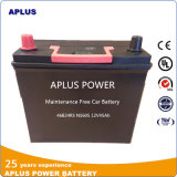 12V 45ah Mf Sealed Lead-Acid Battery Ns60s 46b24RS for Car